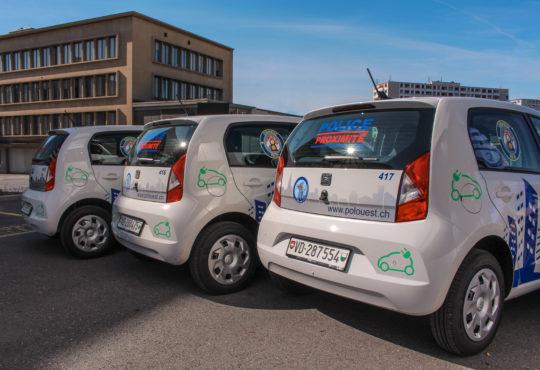 La Police de l'Ouest lausannois améliore la mobilité de sa police de proximité